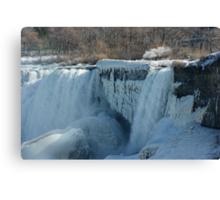 Icy Niagara Falls Canvas Print