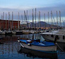 Vesuvius and the Boats II by Georgia Mizuleva