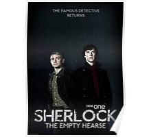 Sherlock Series 3 Poster