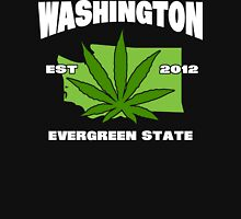 Washington Marijuana Cannabis Weed T-Shirt Unisex T-Shirt