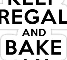 Keep Regal and Bake an Apple Turnover Sticker