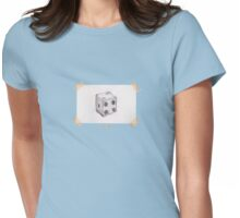 The Die of Future Possibilities (Cool Colors & Black) Womens Fitted T-Shirt