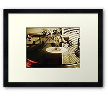 Turntables Framed Print