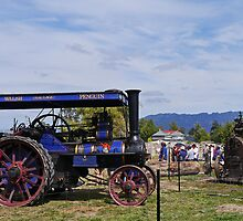Steam engines, Steamfest, Sheffield, Tasmania, Australia by Margaret  Hyde