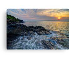 Newport Sunrise Canvas Print