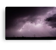 The Electrical Grid Canvas Print