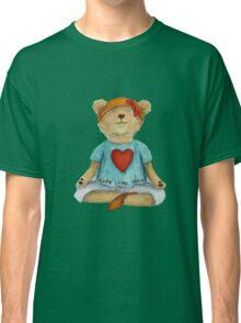Live Love Yoga Bear (no background) Classic T-Shirt