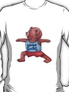 Warrior Yoga Bear  T-Shirt