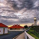Cape Byron Lighthouse and Keepers Cottages by Cheryl Styles