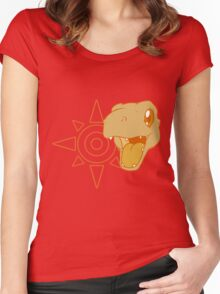Simply Agumon Women's Fitted Scoop T-Shirt