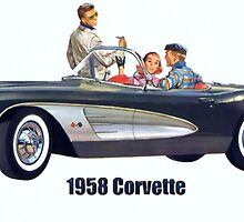 1958 Corvette by Walter Colvin