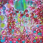 Cotton Candy Original Art Reproduction by Tanya Cole by Tanya Cole