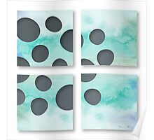 Window of circles Poster