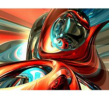 Slippery Abstract Photographic Print
