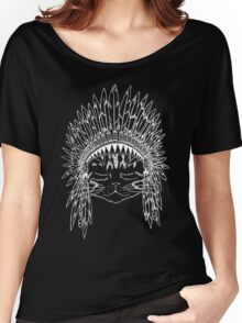 Chief Kitty - White Women's Relaxed Fit T-Shirt