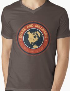 Drake and Sullivan's 2 Mens V-Neck T-Shirt