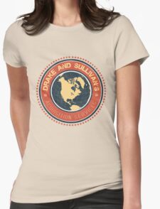 Drake and Sullivan's 2 Womens Fitted T-Shirt