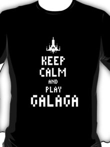 Keep calm and PLAY GALAGA T-Shirt
