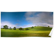 Nannup Greenery Poster
