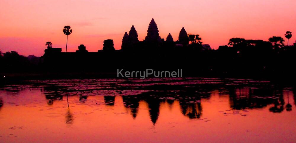 Dawn at Angkor Wat, Cambodia by KerryPurnell