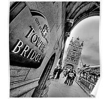 Tower Bridge (HDR) Poster