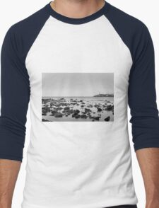 Seascape Black and white T-Shirt