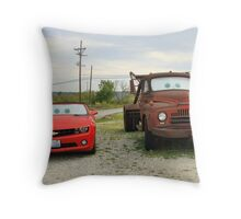 Mater & Lightning McQueen, Galena, Ks Throw Pillow