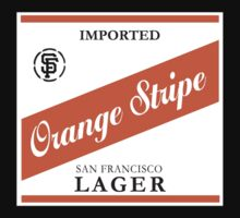 Orange Stripe Lager T-Shirt