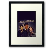Team Free Will Framed Print