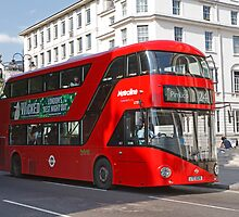 London Hybrid Bus by Keith Larby