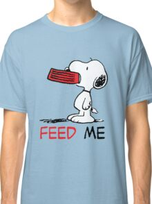 Hungry Snoopy Classic T-Shirt