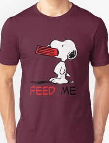 Hungry Snoopy T-Shirt