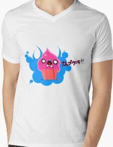 Crazy Cupcake Mens V-Neck T-Shirt
