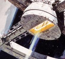 2001 A Space Odyssey Sci Fi Movie Sticker