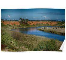 Werribee River Poster