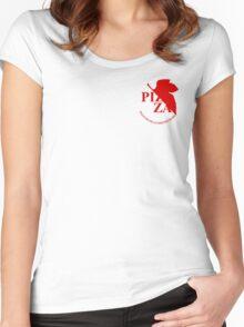 Pizzavangelion Team Shirt Corporate  Women's Fitted Scoop T-Shirt