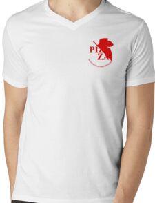 Pizzavangelion Team Shirt Corporate  Mens V-Neck T-Shirt