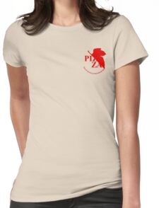 Pizzavangelion Team Shirt Corporate  Womens Fitted T-Shirt