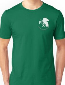 Pizzavangelion Team Shirt Corporate White Unisex T-Shirt
