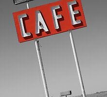 Route 66 cafe, Adrian, Texas by CliveHarris