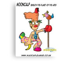 Mooncalf Beneath-The-Planet-Of-The-Apes Manager of Bongo deNibbler's Looney Bin United Canvas Print