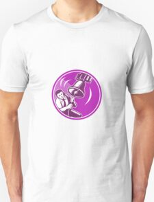 Businessman Ringing Liberty Bell Unisex T-Shirt