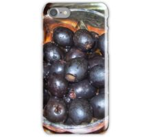 Bodacious Black Olives iPhone Case/Skin