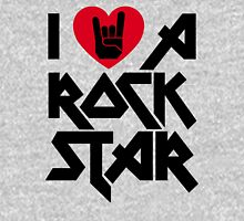 I love a Rock Star Womens Fitted T-Shirt