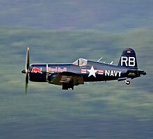 Chance Vought F4U-4 Corsair by Delfino