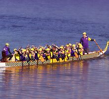 Dragon Boat Taree 01 by kevin chippindall