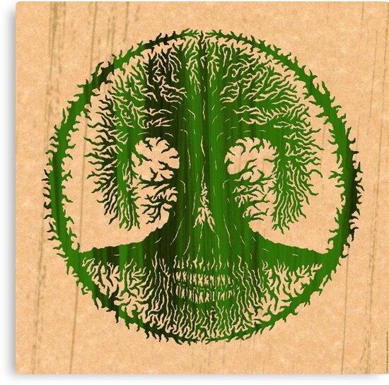 Skulltree, Tree of Life (romkaláh) by peter barreda