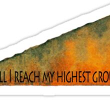 Higher Ground Sticker