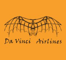 Da Vinci Airlines by natbern