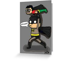 Bat Dad Greeting Card